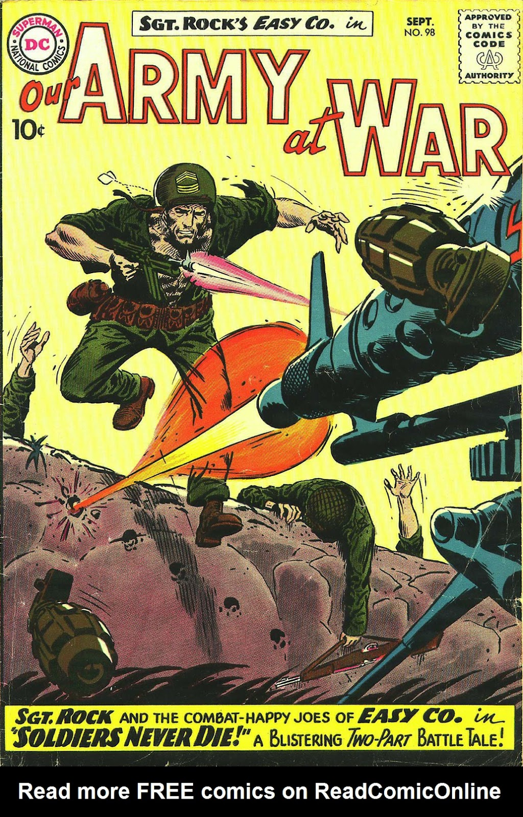 Our Army at War (1952) issue 98 - Page 1