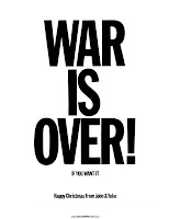 War is Over John Lennon Yoko Ono
