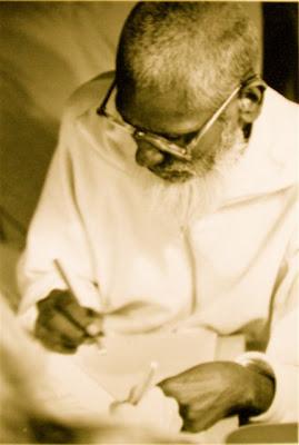 Denise Sulaiha Anne Sati painting with Bawa Muhaiyaddeen, Sufi teacher
