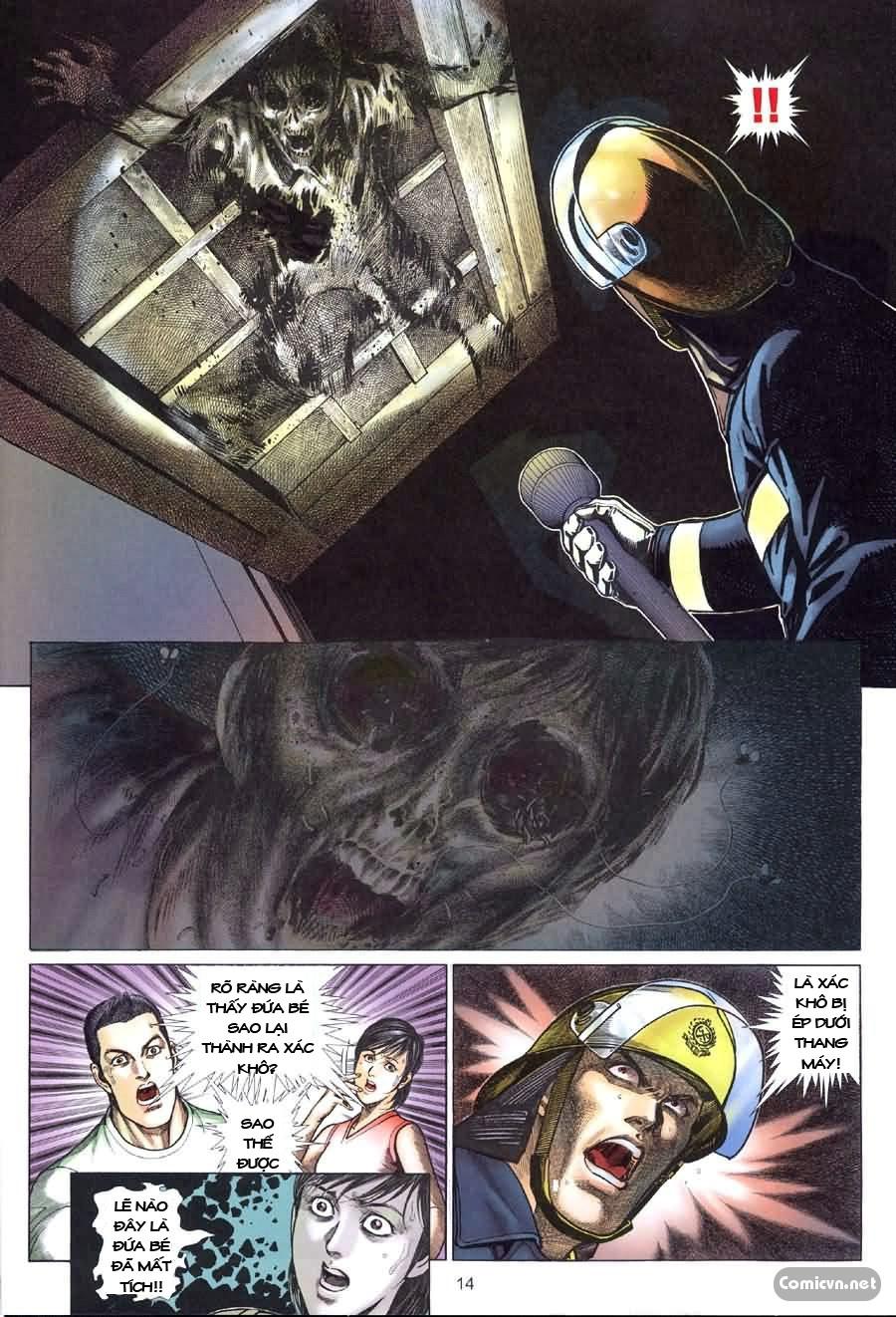 Quỷ Mộ chap 002 trang 14