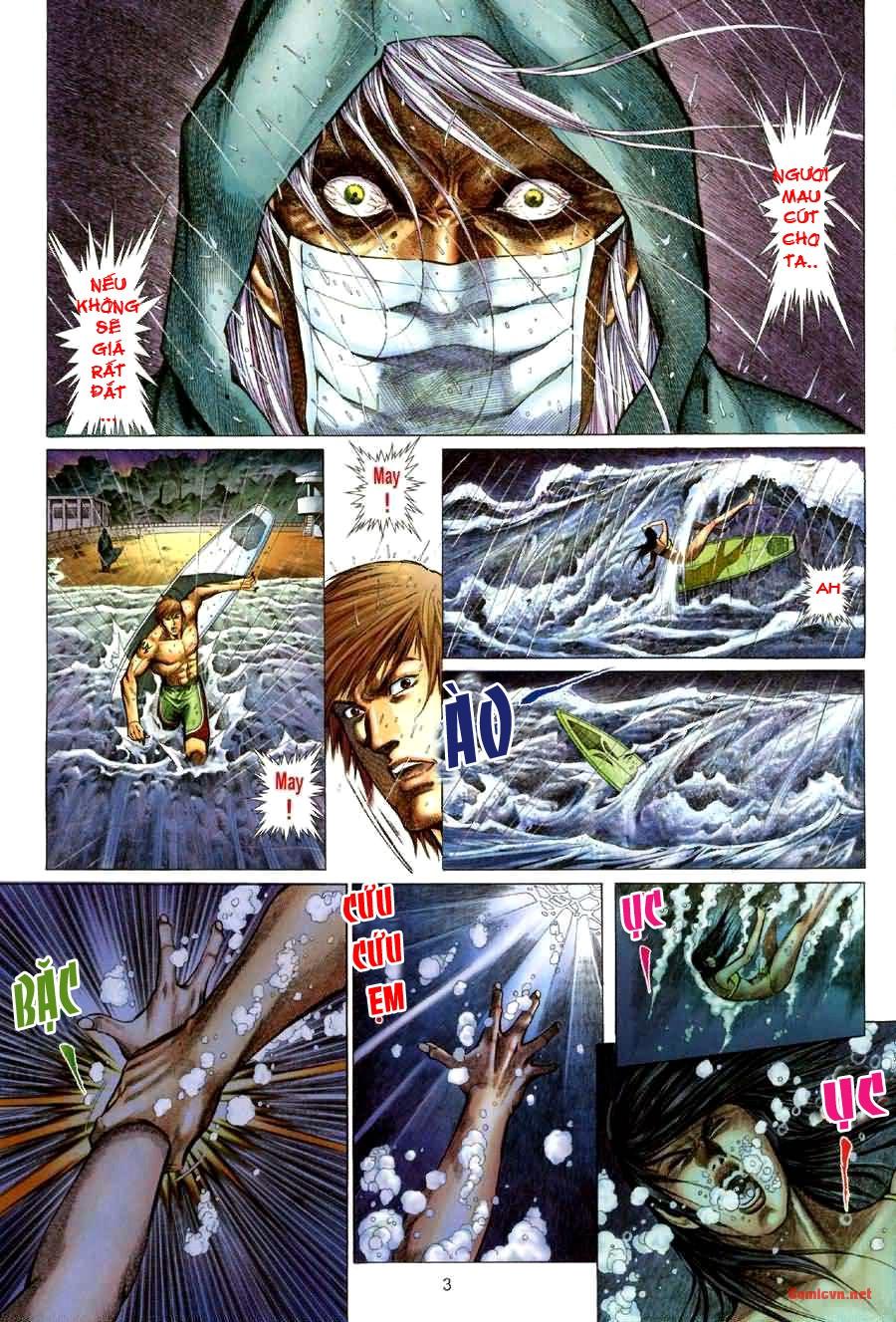 Quỷ Mộ chap 001 trang 3