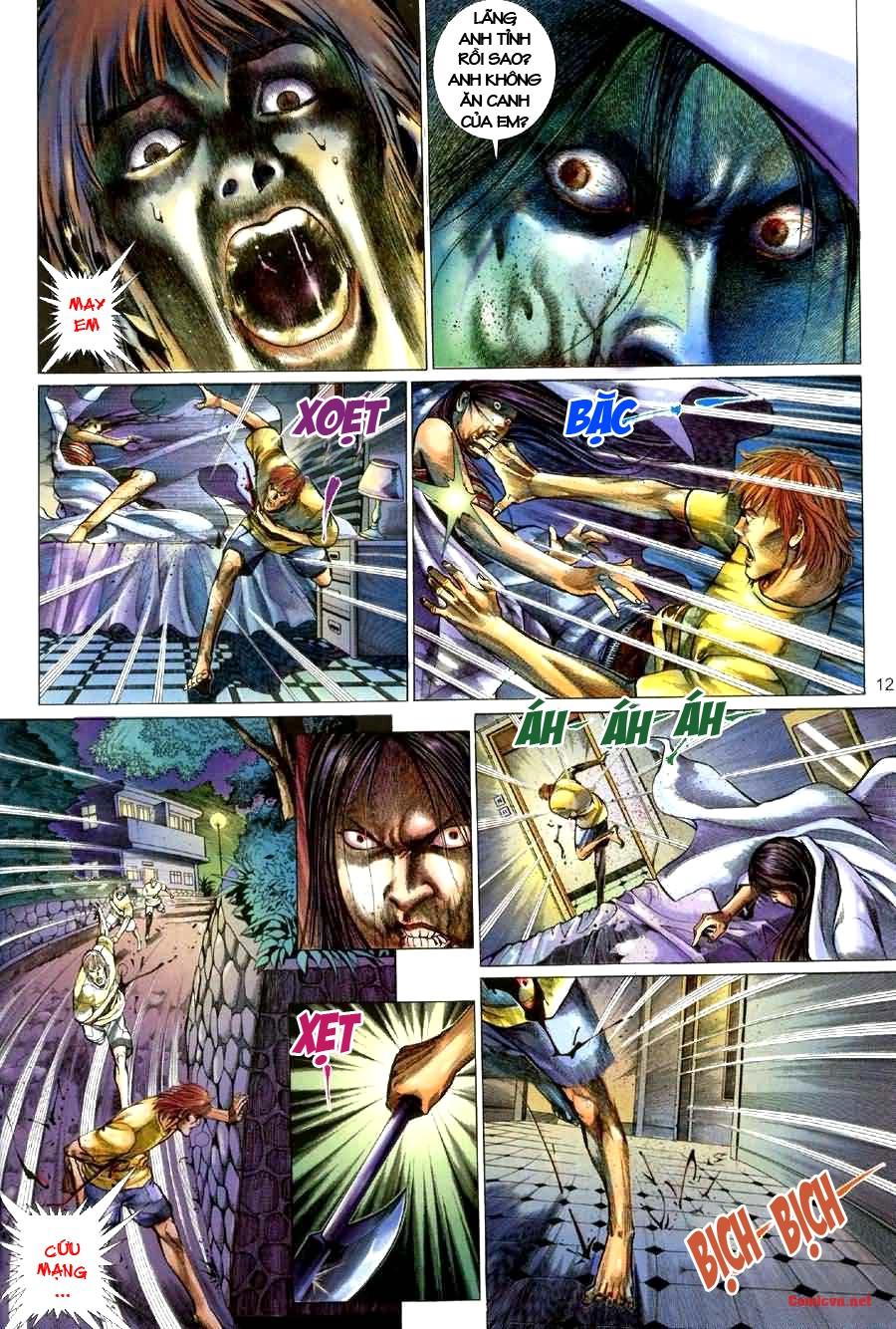 Quỷ Mộ chap 001 trang 12