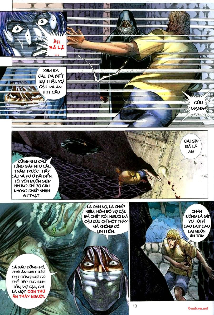 Quỷ Mộ chap 001 trang 13