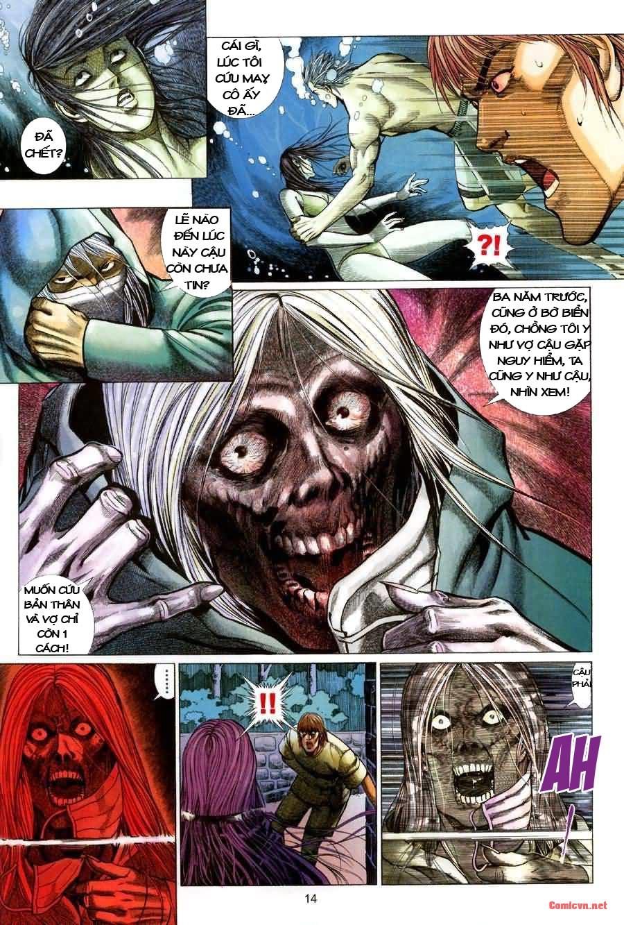 Quỷ Mộ chap 001 trang 14