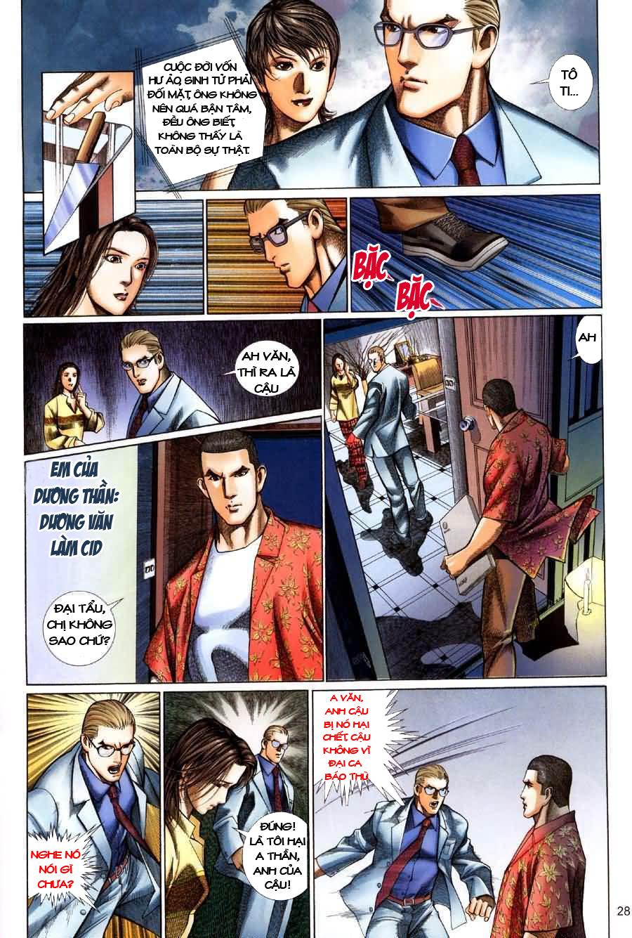 Quỷ Mộ chap 001 trang 28