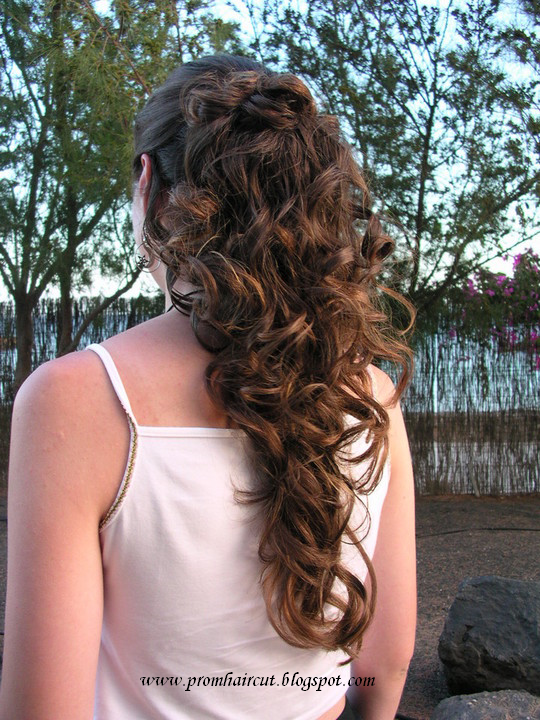 Magnificent Curly Prom Hairstyles Part 01 Prom Hair Styles Short Hairstyles Gunalazisus
