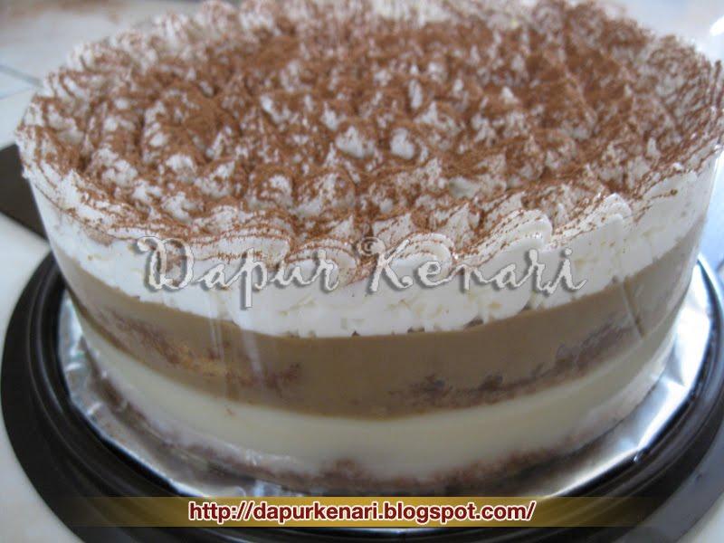 Resep Cake Tiramisu Jtt: Dapur Kenari: Puding Tiramisu