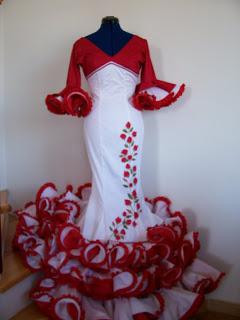 El Mejor Precio En Trajes De Flamenca Pintados A Manoel