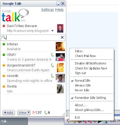 galwaysidle for windows 7