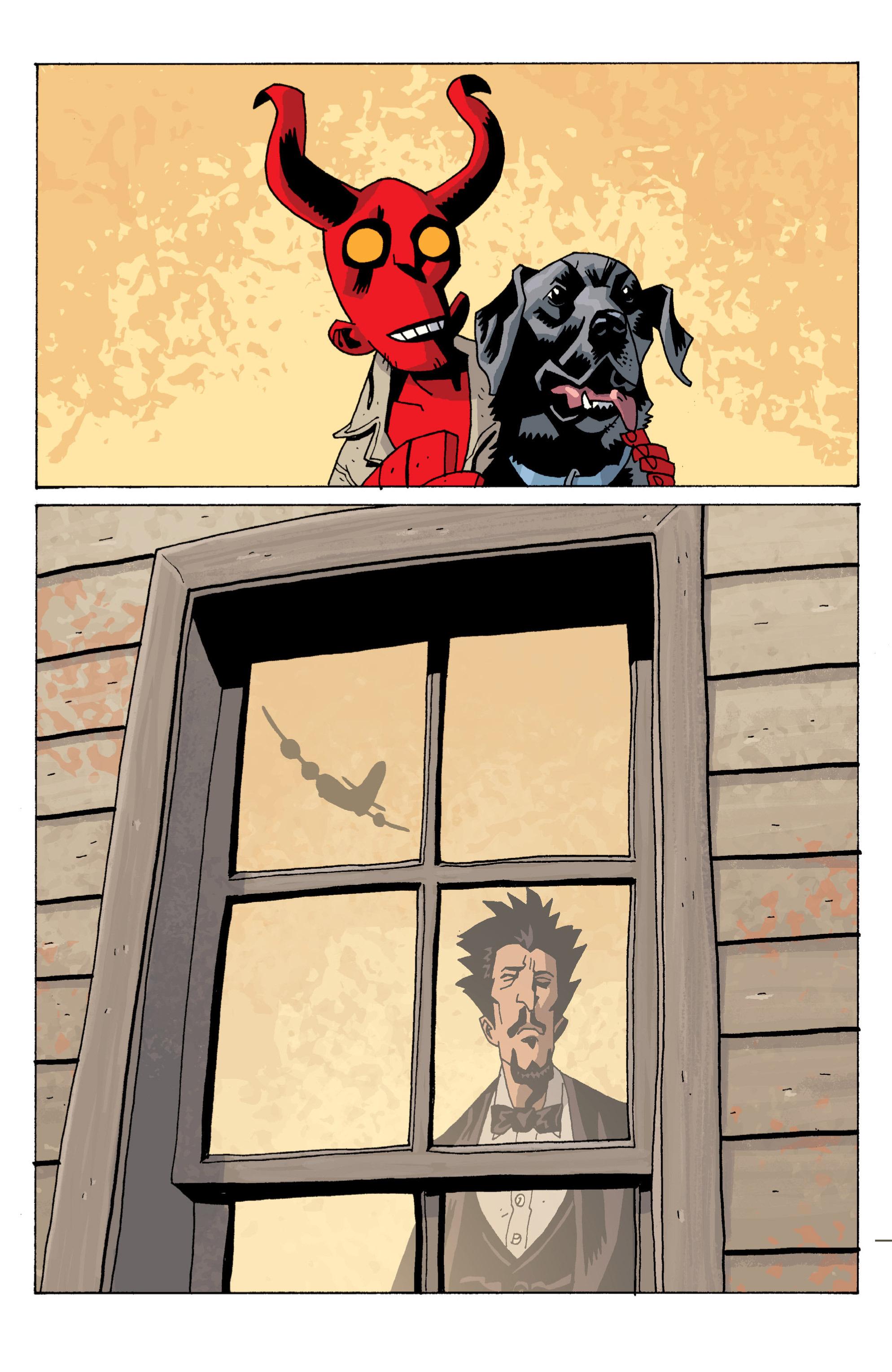 Read online B.P.R.D. (2003) comic -  Issue # TPB 13 - 109