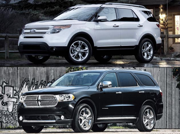 ford explorer vs 2011 dodge durango latest automotive news car shows prices wall papers. Black Bedroom Furniture Sets. Home Design Ideas