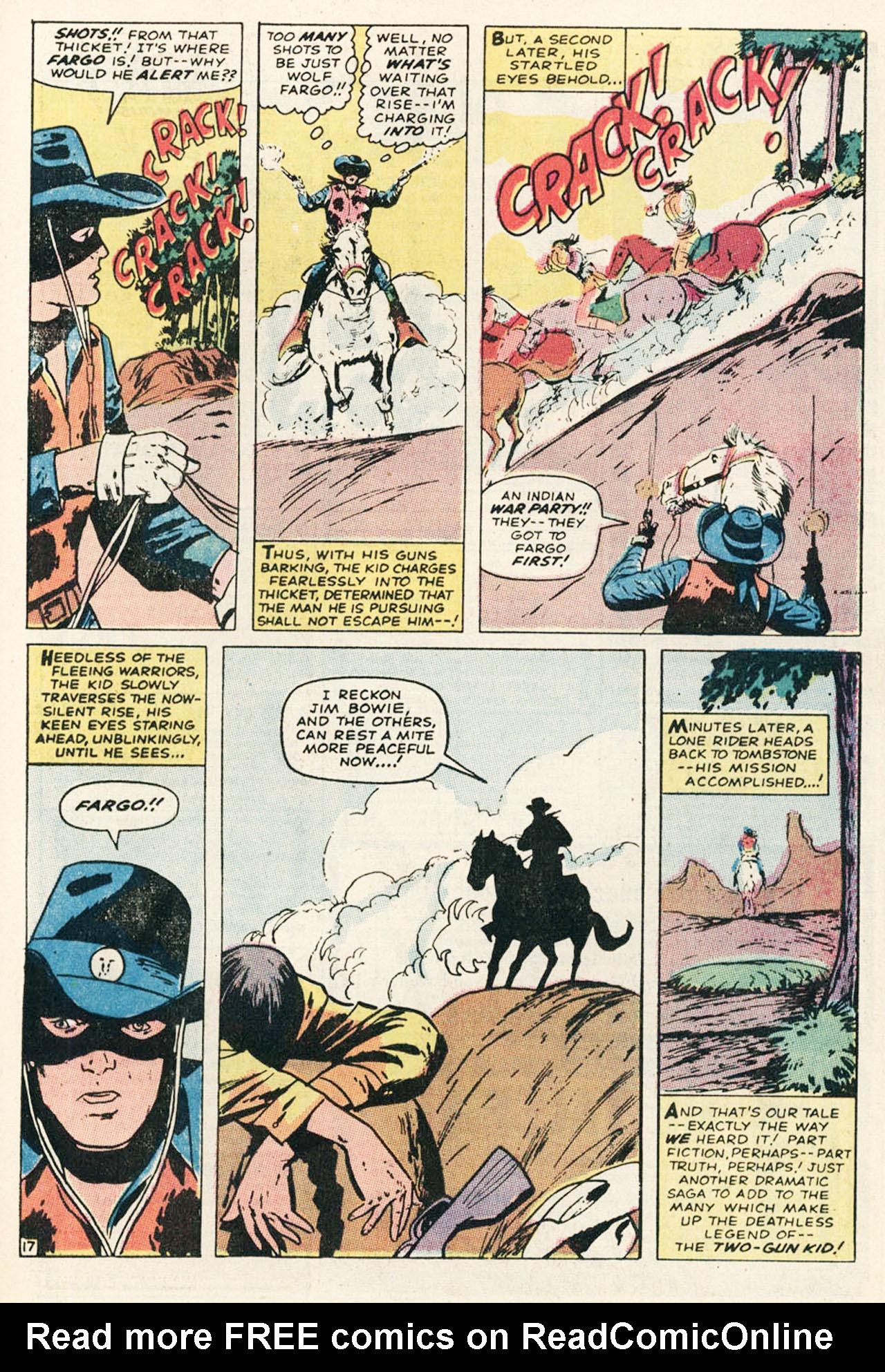 Read online Two-Gun Kid comic -  Issue #95 - 25