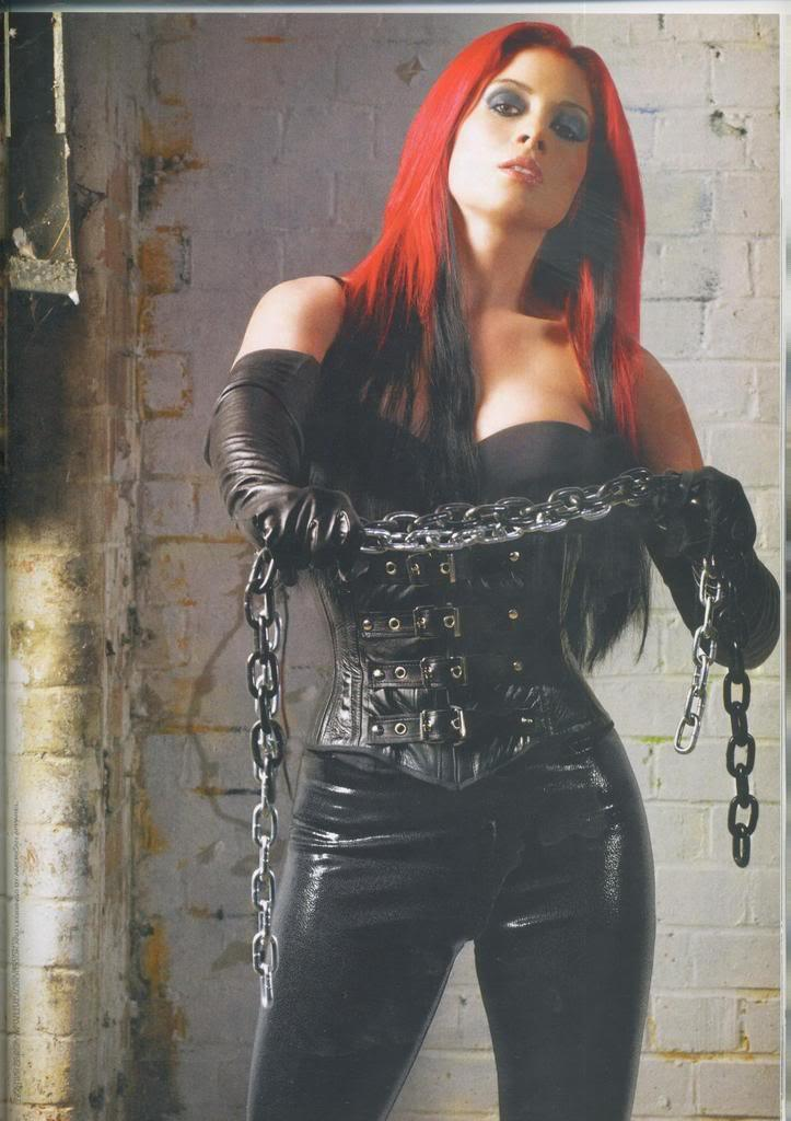 Hot Chicks Gallery Jenny Pacey Fhm Gladiators In Leather