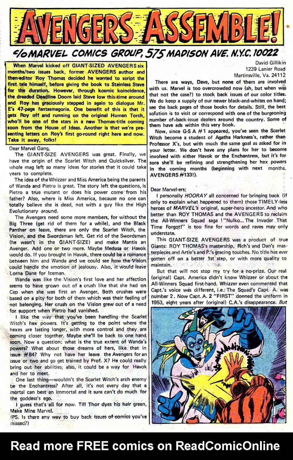Giant-Size Avengers (1974) issue 3 - Page 43