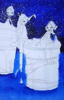 des petites fées dans des pots de confitures par l'illustratrice laure phelipon
