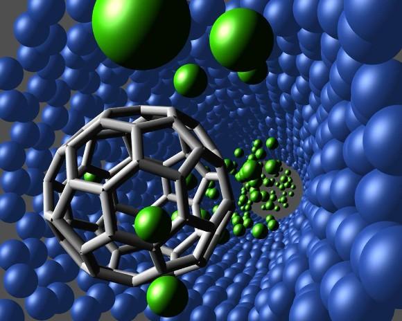 Resultado de imagen de Al suspender un imán gigante en forma de donut en el aire, los investigadores fueron capaces de controlar el movimiento de un gas extremadamente caliente de partículas cargadas dentro de la cámara exterior del imán