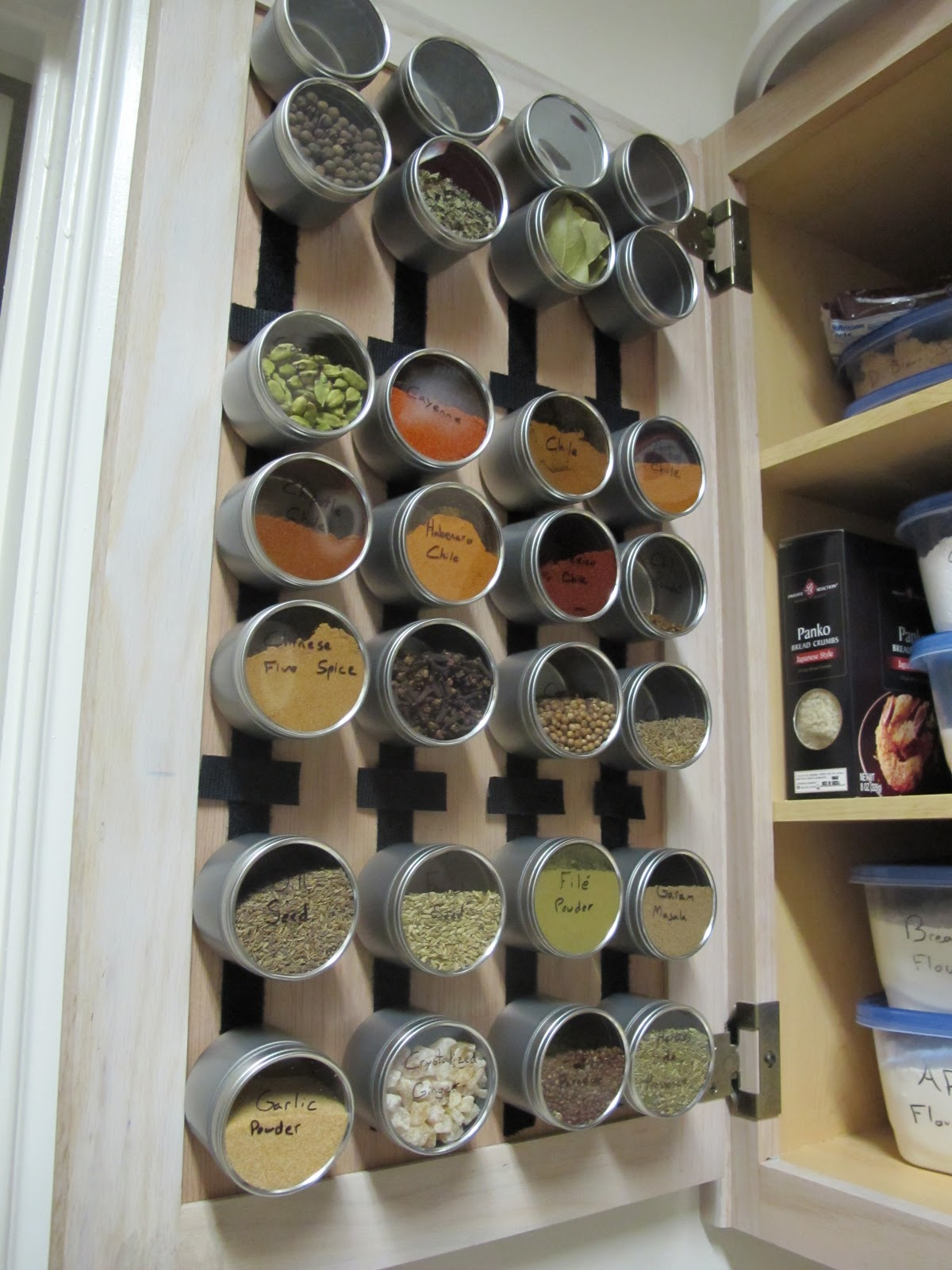 Creative Spice Storage The Ramblings Of Chuck Howard Mission Spice Rack