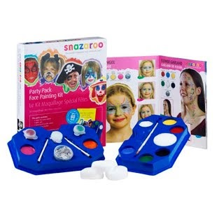 Madhouse Family Reviews: Snazaroo Face and Body Painting Kits