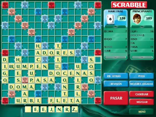 Scrabble (Castellano - PC) (Resubido) | Harcoval