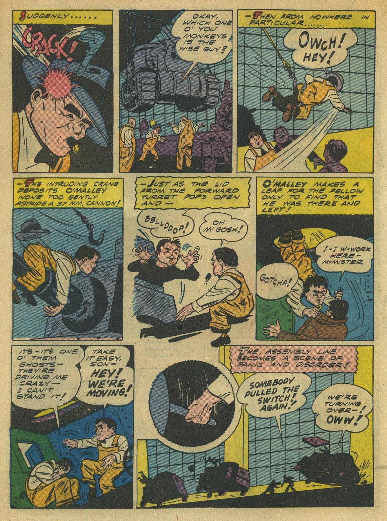 Read online Sensation (Mystery) Comics comic -  Issue #10 - 34