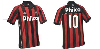 A Philco volta a ser a patrocinadora master do Clube Atlético Paranaense. A  marca já estará estampada no uniforme do CAP d5be5145eeab9