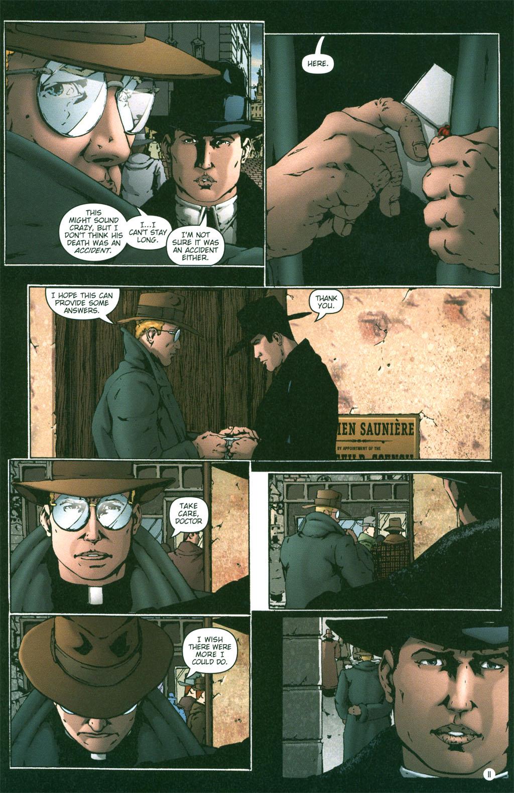 Read online Rex Mundi comic -  Issue #2 - 12
