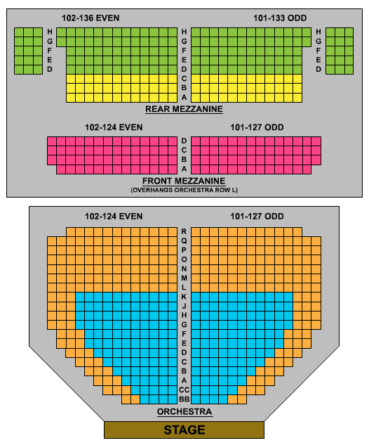 Bowery Ballroom Seating Capacity   Brokeasshome.com