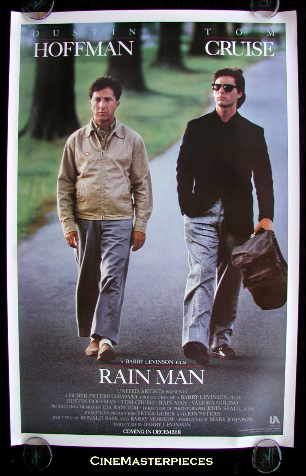 Rain Man 1988 Directed By Barry Levinson