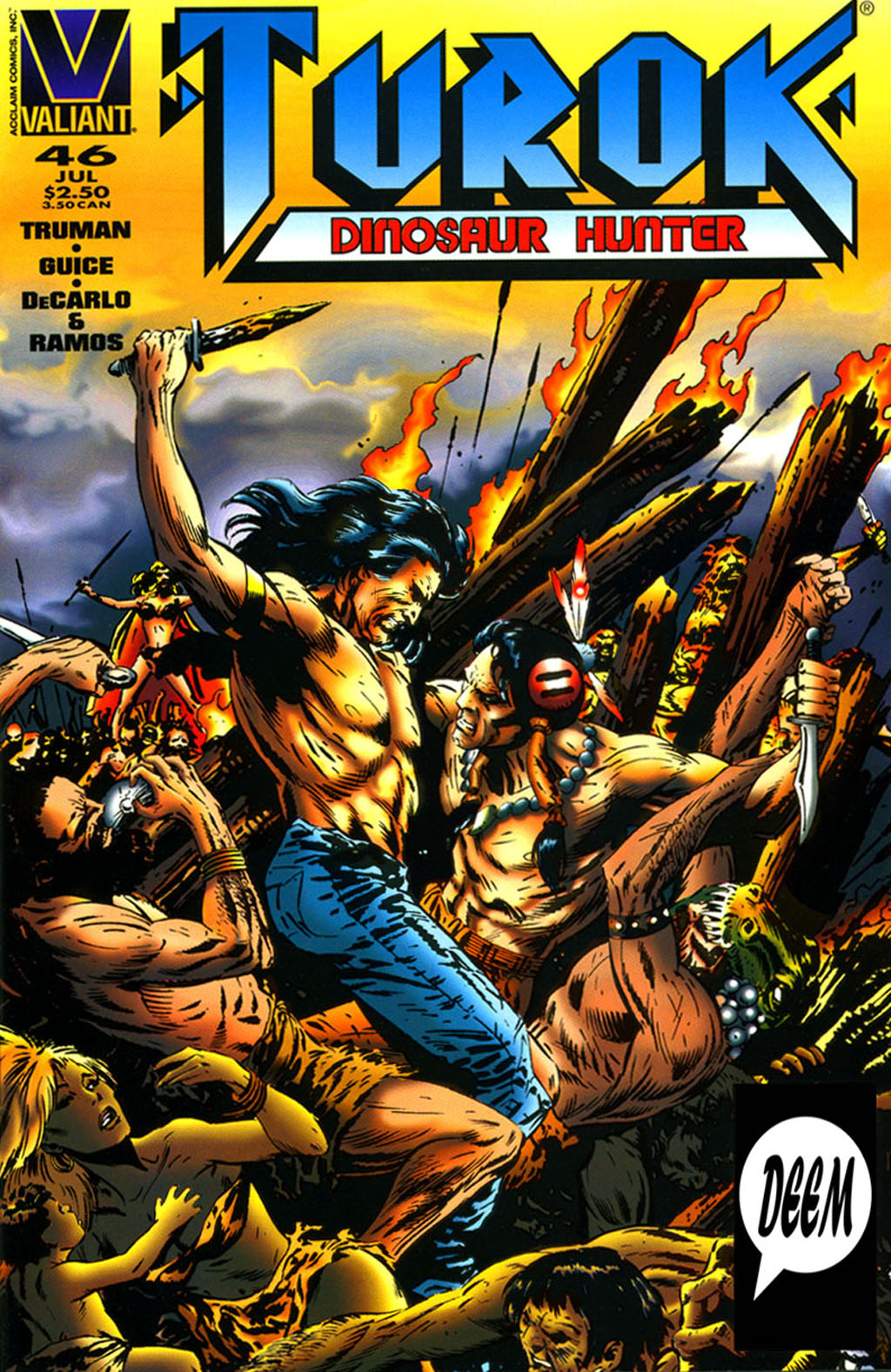 Read online Turok, Dinosaur Hunter (1993) comic -  Issue #46 - 1