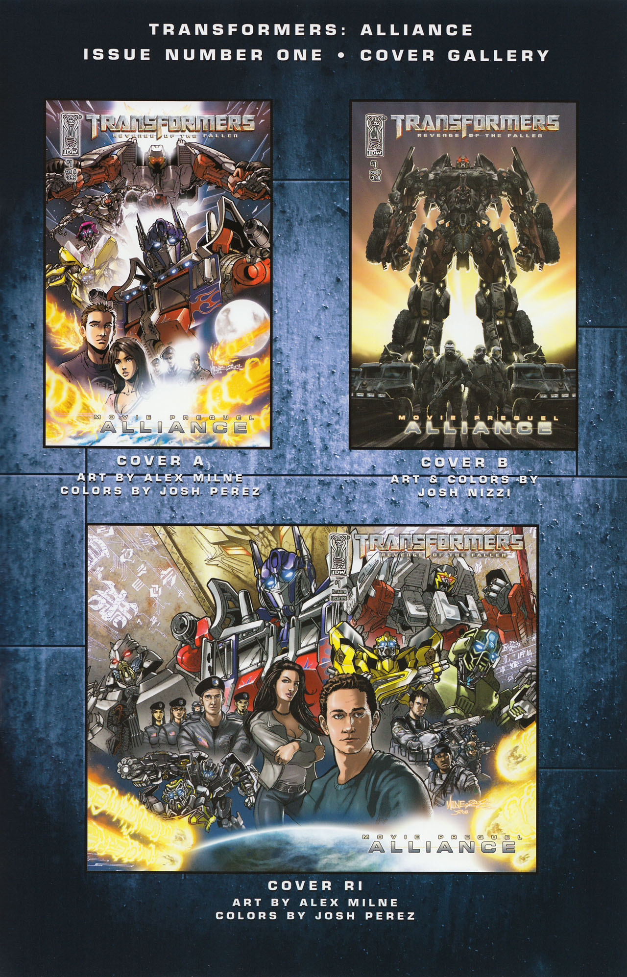 Read online Transformers: Alliance comic -  Issue #1 - 27