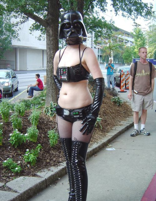 Fans of star wars costumes