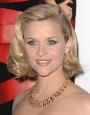 Pleasing Hairstyle Models Reese Witherspoon39S Short Blonde Hairstyle Short Hairstyles For Black Women Fulllsitofus