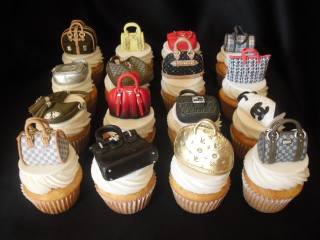 Made Fresh Daily Designer Handbag Cupcakes Upgraded