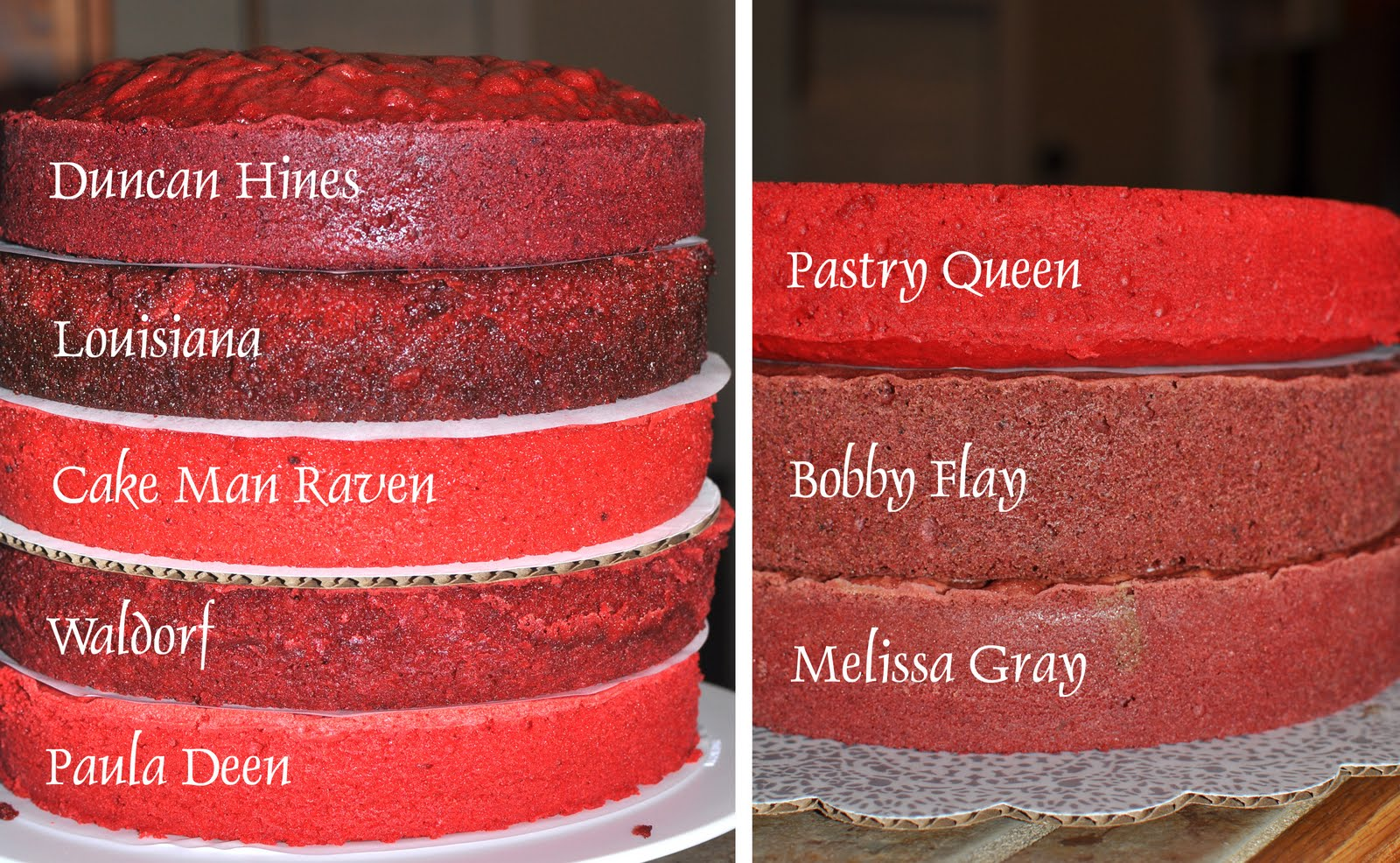 The Bake More Ultimate Red Velvet Cake Taste Off 8 Cakes