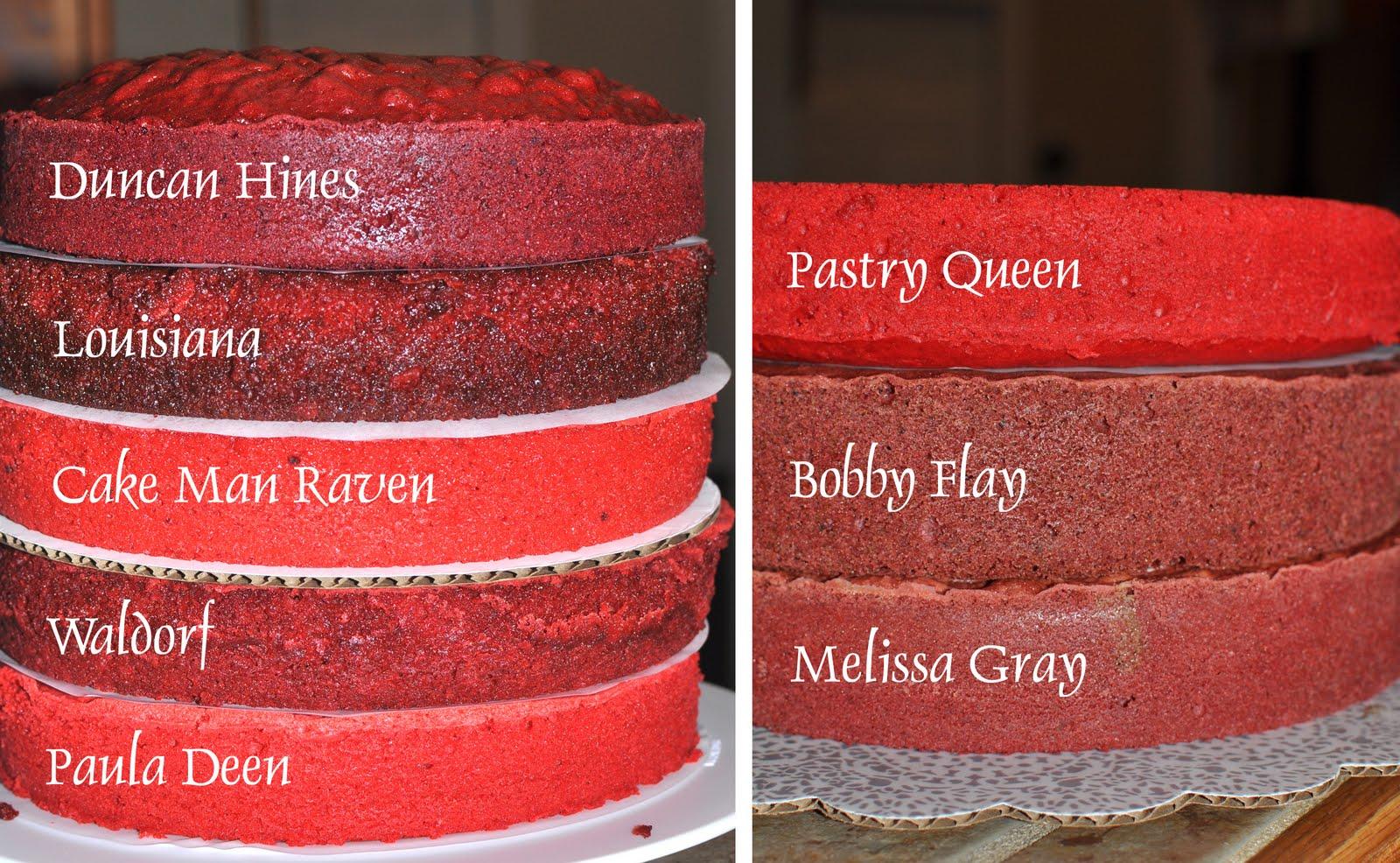 The Bake More Ultimate Red Velvet Cake Taste Off 8 Cakes