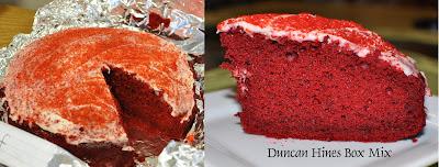 Duncan Hines Red Velvet Rum Cake
