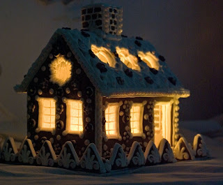 Gingerbread Houses How To Light Up A Gingerbread Cottage