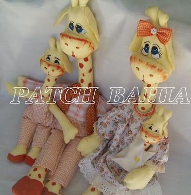 Familia Girafesca…enfim saiu!!!!