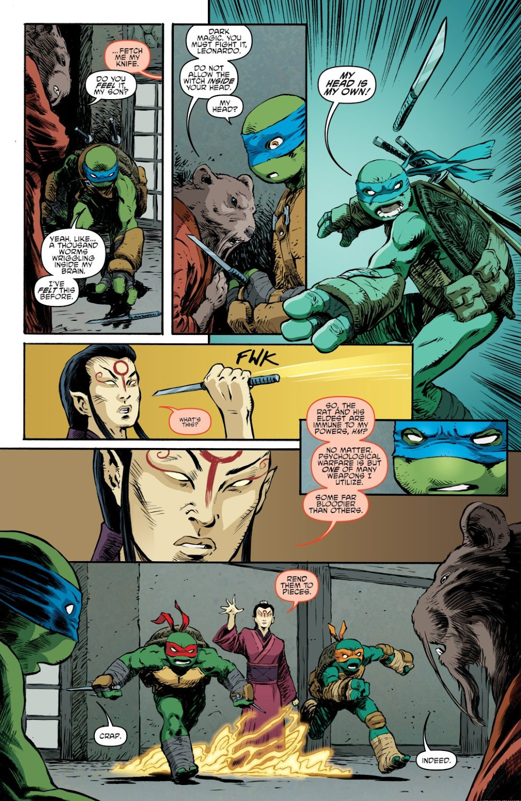 Read online Teenage Mutant Ninja Turtles: The IDW Collection comic -  Issue # TPB 7 (Part 3) - 13