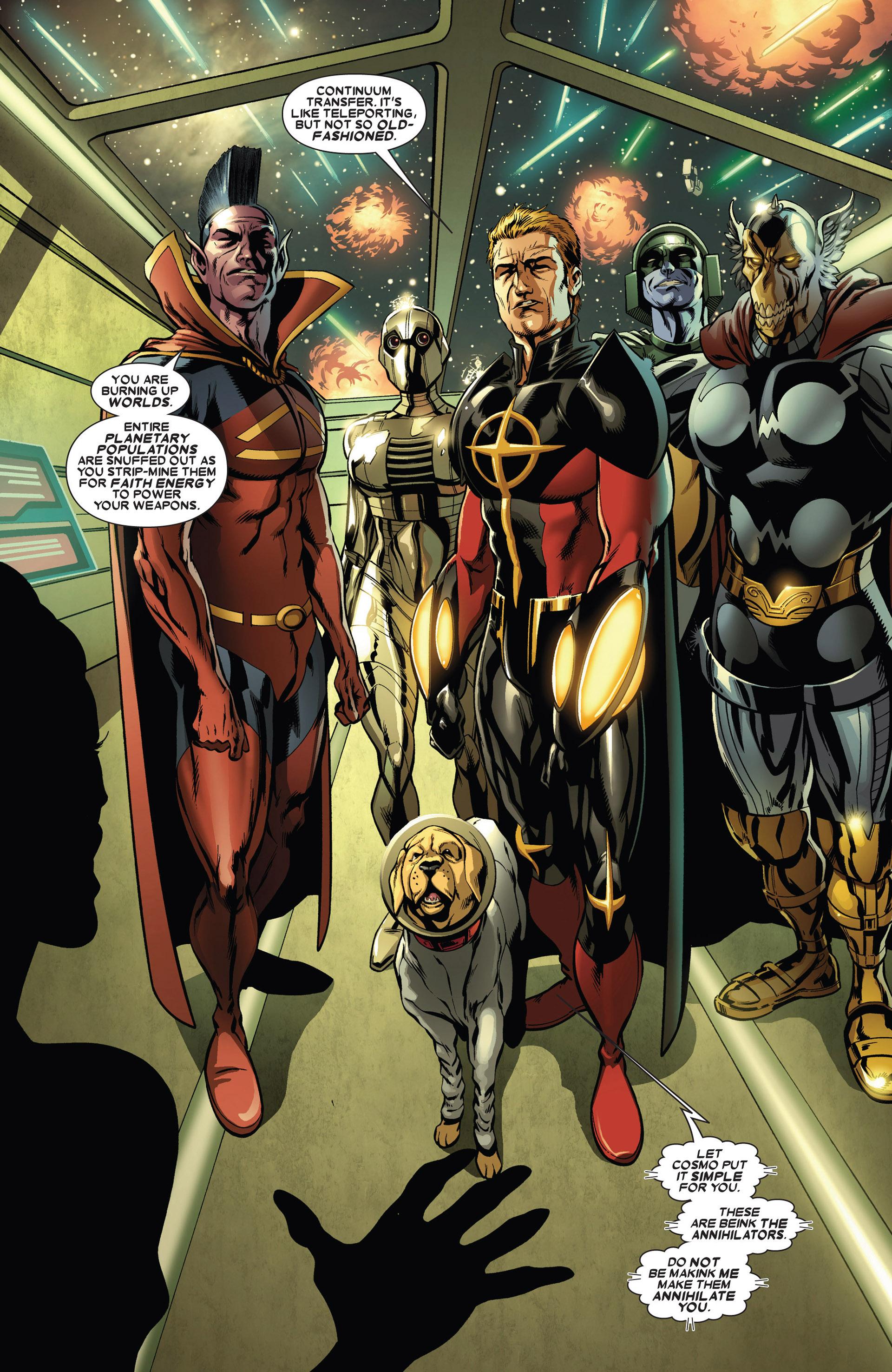 Read online Annihilators: Earthfall comic -  Issue #1 - 4