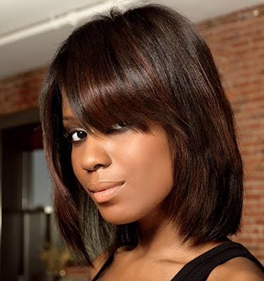 full sew in with cap short hairstyle 2013