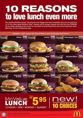 Kami akan menukar ke menu sarapan dalam masa minit. Sila lengkapkan pesanan anda sebelum masa tamat. Menu akan bertukar dalam. (
