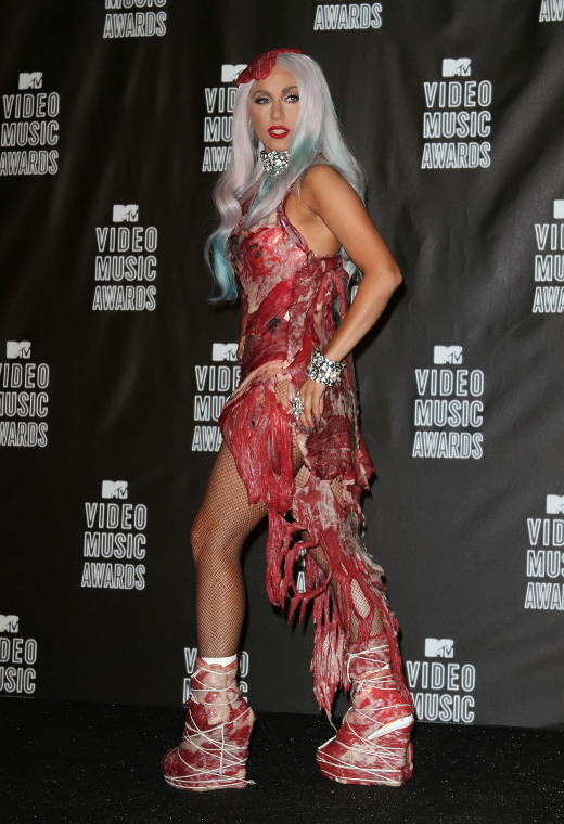 Halloween Edition : Meat Dress or Nicki Minaj? | Snazzy ...