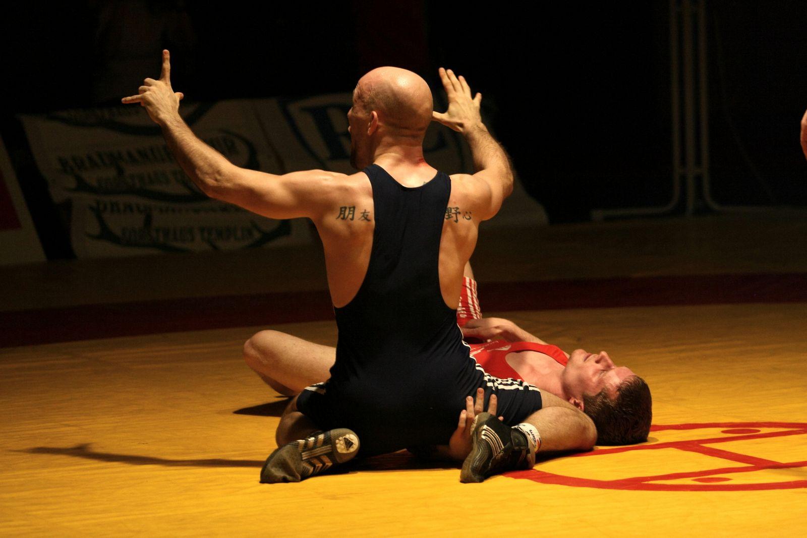 wrestling world: German wrestling - Potsdam vs. Küstenringer