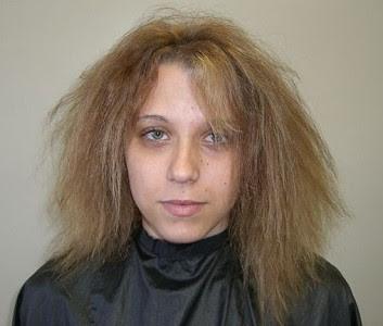 Tratamiento para pelo reseco y quebradizo