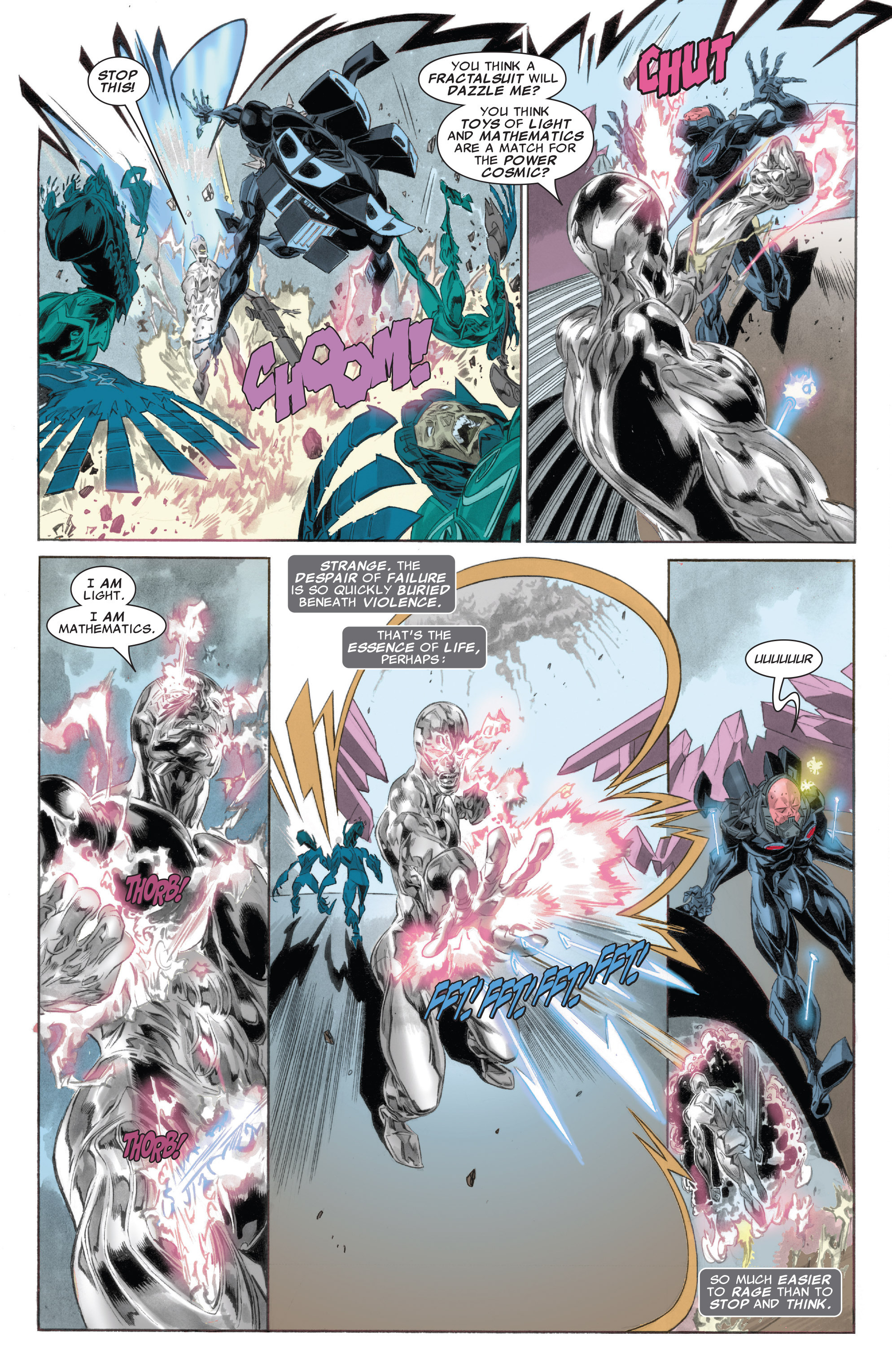 Read online Silver Surfer: In Thy Name comic -  Issue #4 - 18