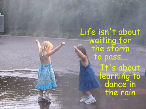 Welcome The Day: Learn How To Dance In The Rain