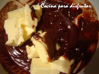 BIZCOCHO DE CHOCOLATE PARA CELIACOS