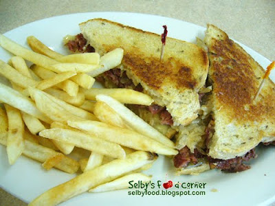 Country Kitchen Reuben Sandwich Calories Without Dressing