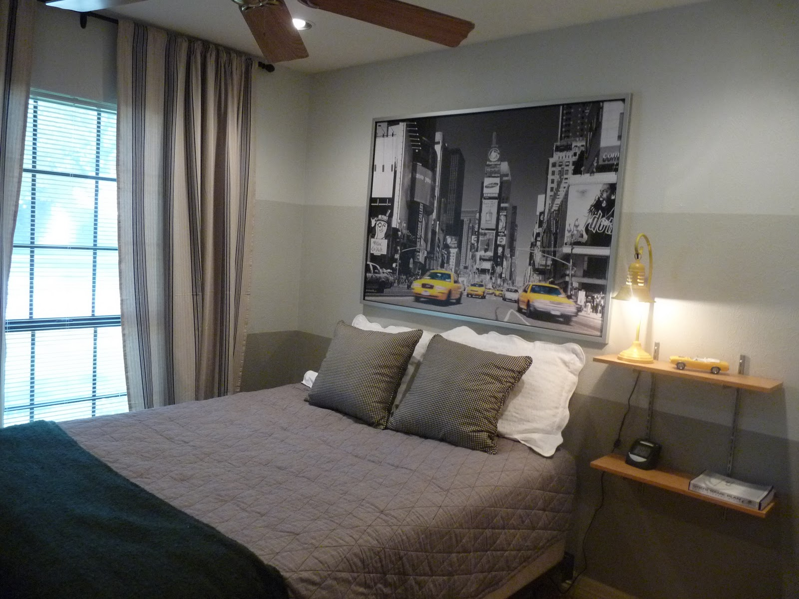 Manly Guest Room Makeover